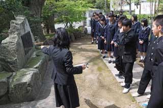 安永蕗子先生歌碑