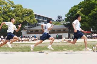 3年男子クラス対抗リレー