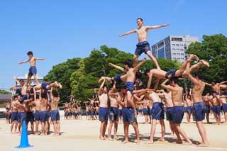 男子組体操