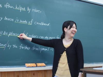 国際教養科の先生