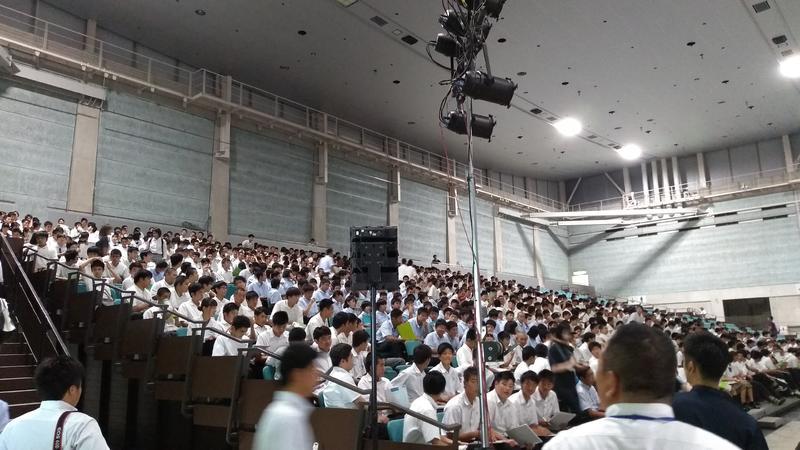 県内から大勢の高校生が集まりました!