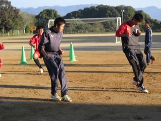 早朝トレーニング2