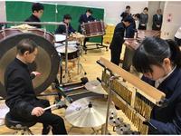 札幌視覚支援学校での練習の様子
