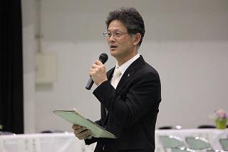 林田学年主任挨拶