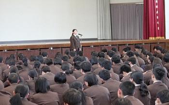 熊本地震全校集会2