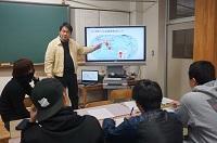 福永先生の熱い授業!